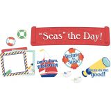 S.S. Discover Seas the Day! Mini Bulletin Board Set