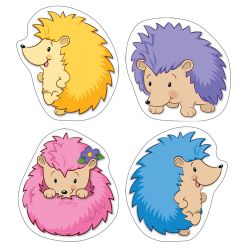 Happy Hedgehogs Colorful Cut-Outs® Assorted Designs