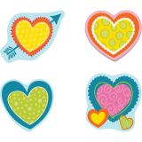 Hearts Colorful Cut-Outs® Assorted