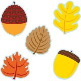 Leaves & Acorns Colorful Cut-Outs® Assorted