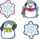 Winter Mix Colorful Cut-Outs® Assorted
