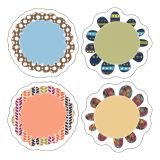 Mini Flowers Colorful Cut-Outs®