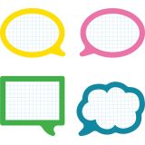 School Pop Speech Bubbles Colorful Cut-Outs®