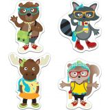 Hipster Pals Colorful Cut-Outs® Assorted Designs
