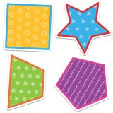 School Tools Colorful Cut-Outs®, Shapes