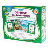 Science File Folder Games, Grades PreK -1