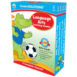 CenterSOLUTIONS®: Language Arts Learning Game, Grade K