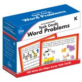 Task Cards: Word Problems, Grade K