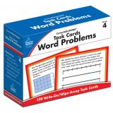 Task Cards: Word Problems, Grade 4