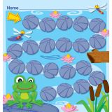 FUNky Frogs Incentive Charts with Stickers
