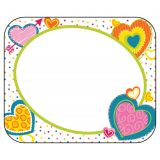 Hearts Name Tags