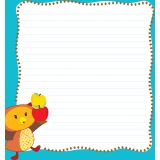 Fall Fun Shaped Notepad