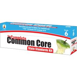 Complete Common Core State Standards Kit for English Language Arts, Grade 6