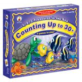 1, 2, 3 Treasures in the Sea: Counting Up to 30+