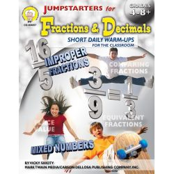 Jumpstarters for Math, Grades 4-8+
