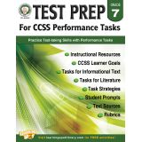 Test Prep for CCSS Performance Tasks, Grade 7