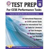 Test Prep for CCSS Performance Tasks, Grade 8