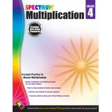 Spectrum® Multiplication, Grade 4