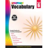 Spectrum® Vocabulary, Grade 6