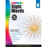 Spectrum® Sight Words, Grade K