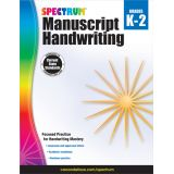Spectrum® Manuscript Handwriting, Grades K-2