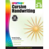 Spectrum® Cursive Handwriting, Grades 3-5