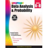 Spectrum® Data Analysis and Probability, Grades 6-8