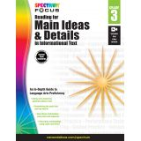 Spectrum® Focus Reading for Main Ideas and Details in Informational Text, Grade 3