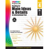 Spectrum® Focus Reading for Main Ideas and Details in Informational Text, Grade 4