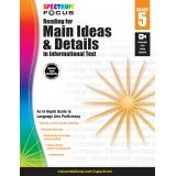 Spectrum® Focus Reading for Main Ideas and Details in Informational Text, Grade 5