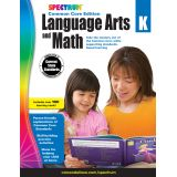Spectrum® Language Arts and Math Common Core Edition, Grade K