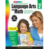 Spectrum® Language Arts and Math Common Core Edition, Grade 2