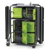Tech Tub2® Premium Cart, Holds 32 devices and includes 10-port syncing USB hub (for iPads®)