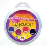 Jumbo Circular Washable Pads, Seasonal Kit