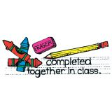 Completed Together in Class Stamp