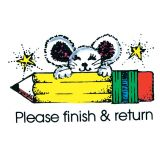 Please Finish & Return Stamp