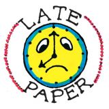 Late Paper Stamp