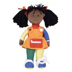 Learn to Dress Doll, African-American Girl