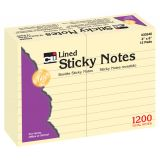 Sticky Notes, 4 x 6 Lined