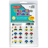 Wiggle Eyes Stickers, Assorted Colors