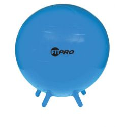 FitPro Ball with Stability Legs, Blue, 53 cm, Grades 3 and up