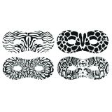 Embossed Paper Masks, Pack of 24