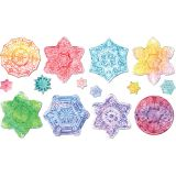 Embossed Paper Snowflake Collection