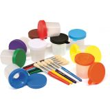 No-Spill Paint Cups, Round