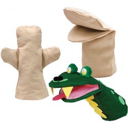 Canvas Hand Puppet, Body
