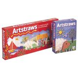 Artstraws®, 900 straws, 6mm, White