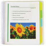 C-Line® 10-Pocket Portfolios with Write-On Tabs