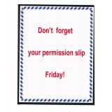 C-Line® Sign Holders, Magnetic Backing for Metal Surfaces & Whiteboards, Pack of 2