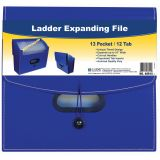 C-Line® 13-Pocket Ladder Expanding File