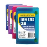 C-Line® Index Card Case, for 4 x 6 cards